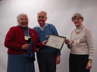 Ellen & Orris Hull Owen Sound Field Naturalists Life Member